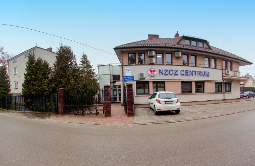 NZOZ Centrum wejście